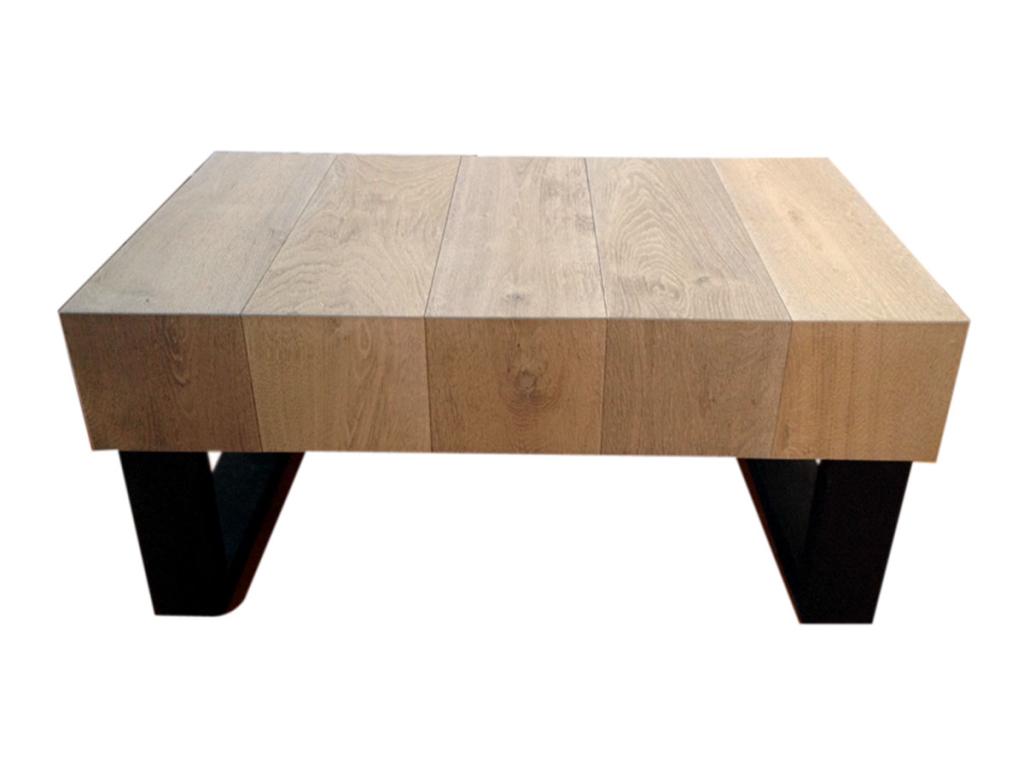 Woodshop Girl Inspire Reclaimed European White Oak Coffee Table